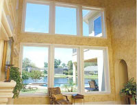 Example of window replacement and installation that AAA Windows 4 Less does in the San Francisco Bay Area